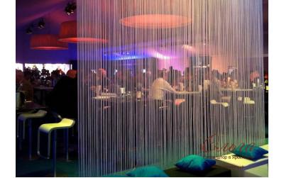 Нитяные шторы (35 фото)