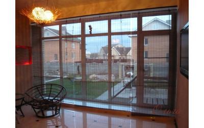 Рулонные шторы, жалюзи, венусы (146 фото)